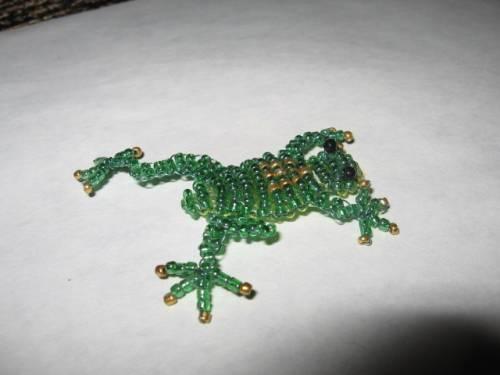 сувениры из бисера мастер класс - О том, как плести бисером.